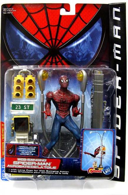 Spider-Man Movie Web Swinging Spider-Man Action Figure