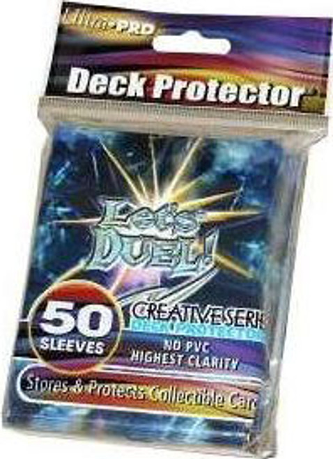 Ultra Pro Card Supplies Deck Protector Let's Duel Standard Card Sleeves [50 ct]