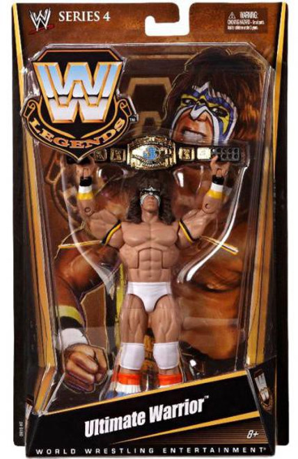WWE Wrestling Legends Series 4 Ultimate Warrior Action Figure