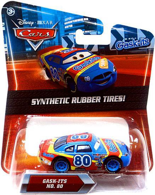 Disney Cars Synthetic Rubber Tires Gask-Its Exclusive Diecast Car