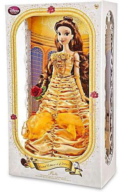 Disney Princess Beauty and the Beast Limited Edition Belle Exclusive 17-Inch Doll [Yellow Dress]