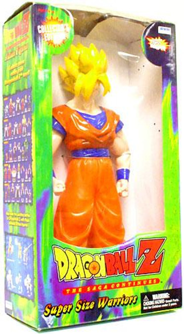 Dragon Ball Z Super Size Warriors Super Saiyan Goku 18-Inch Figure