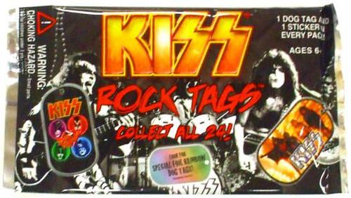 KISS Rock Tags Dog Tag Pack