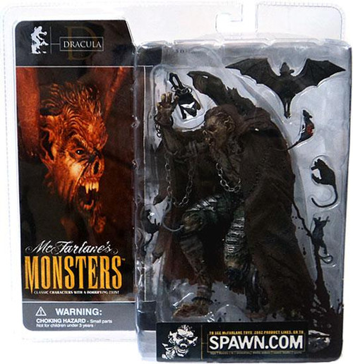 McFarlane Toys McFarlane's Monsters Series 1 Dracula Action Figure [Blood Splattered Package Variant]