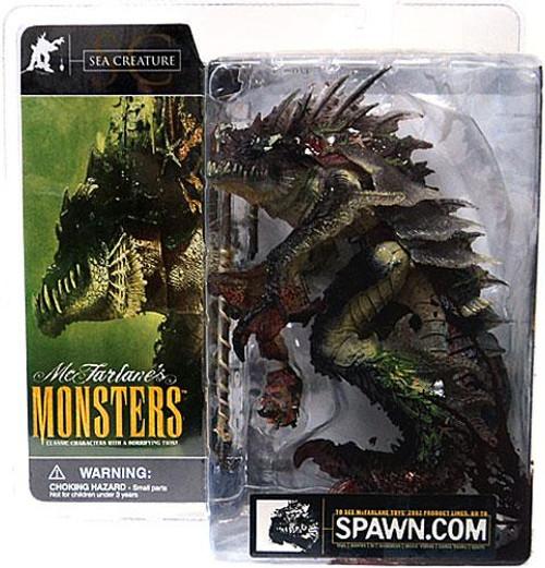 McFarlane Toys McFarlane's Monsters Series 1 Sea Creature Action Figure [Blood Splattered Package Variant]