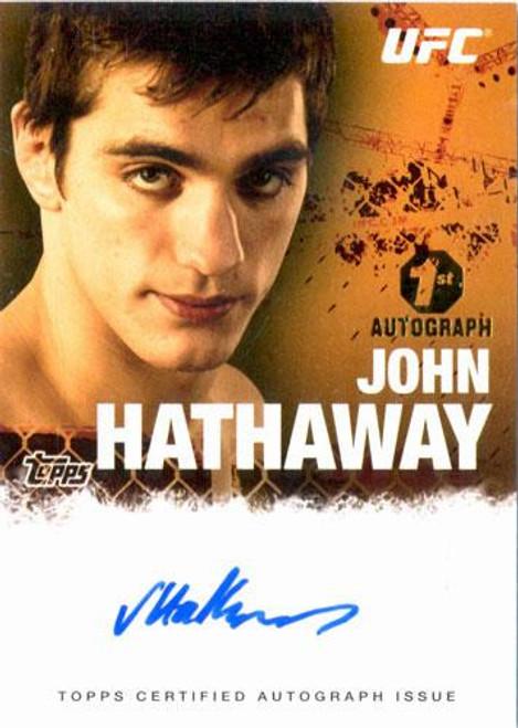 UFC 2010 Championship Autograph Fighters & Personalities John Hathaway FA-JH