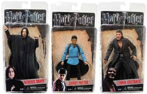 NECA Harry Potter The Deathly Hallows Deathly Hallows Series 1 Set of 3 Action Figure