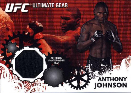 UFC 2010 Championship Ultimate Gear Relic Anthony Johnson UG-AJ