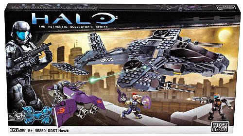 Mega Bloks Halo The Authentic Collector's Series ODST Hawk Exclusive Set #96850