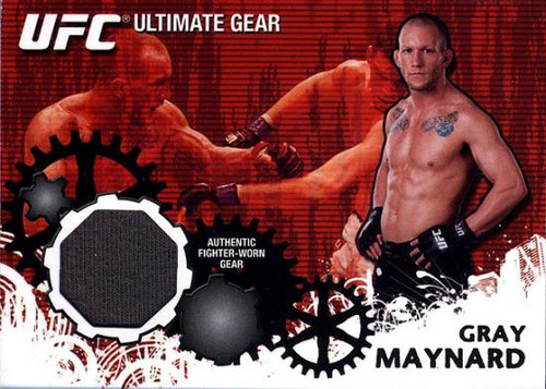 UFC 2010 Championship Ultimate Gear Relic Gray Maynard UG-GM