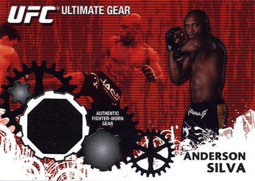 UFC 2010 Championship Ultimate Gear Relic Anderson Silva UG-AS