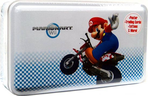 Super Mario Mario Kart Wii Trading Card Tin [Mario]