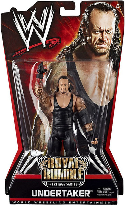 WWE Wrestling Pay Per View Series 6 Royal Rumble Heritage Undertaker Action Figure