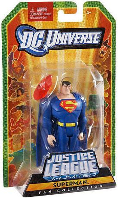 DC Universe Justice League Unlimited Fan Collection Superman Action Figure [Blue]