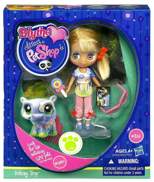 Littlest Pet Shop Blythe Loves Singles Series 1 Hiking Trip Doll B18
