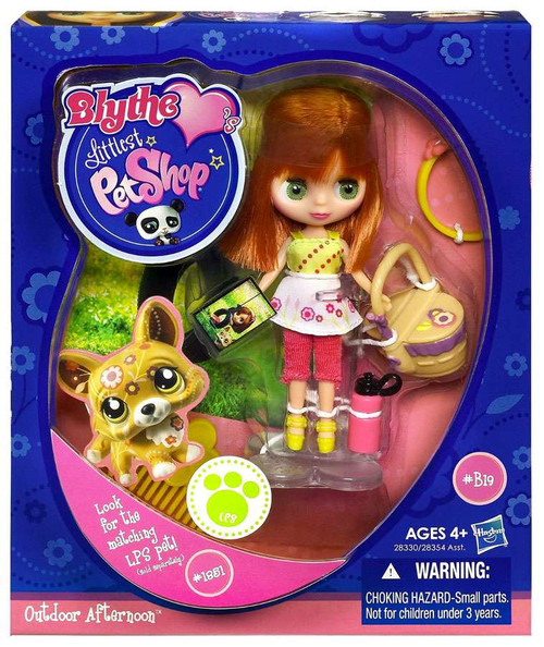 Littlest Pet Shop Blythe Loves Singles Series 1 Outdoor Afternoon Doll B17