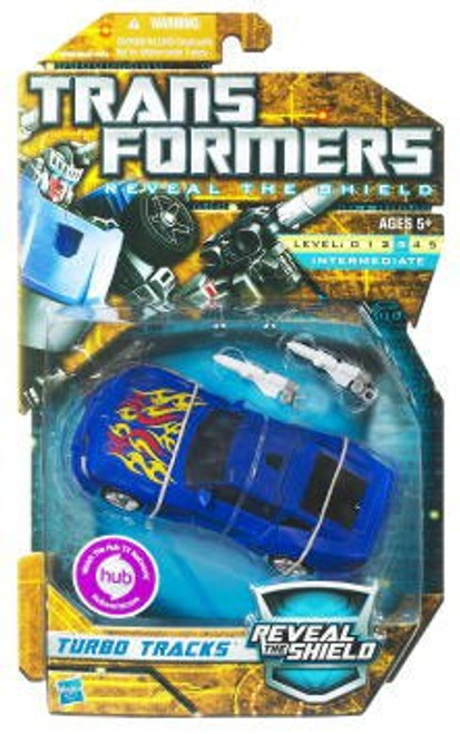 Transformers Reveal the Shield Hunt for the Decepticons Turbo Tracks Deluxe Action Figure