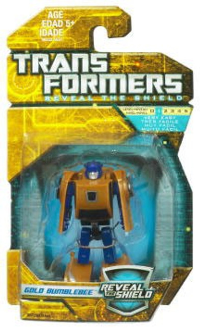 Transformers Reveal the Shield Hunt for the Decepticons Gold Bumblebee Legends Legends Mini Figure