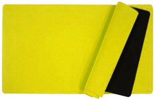 Card Supplies Yellow 12-Inch x 24-Inch Play Mat