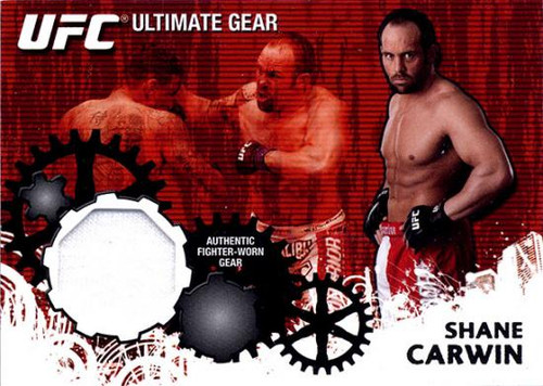 UFC 2010 Championship Ultimate Gear Relic Shane Carwin UG-SC