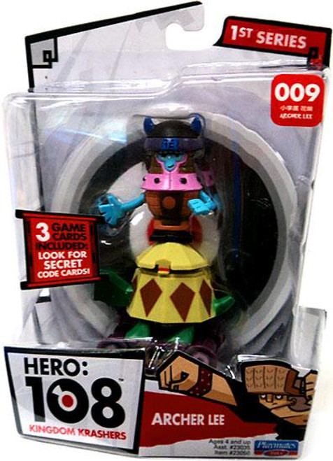 Hero: 108 Kingdom Krashers Series 1 Archer Lee Action Figure #009
