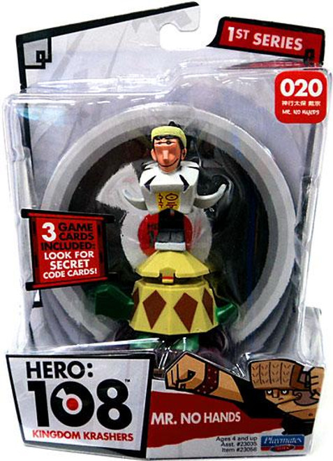 Hero: 108 Kingdom Krashers Series 1 Mr. No Hands Action Figure #020