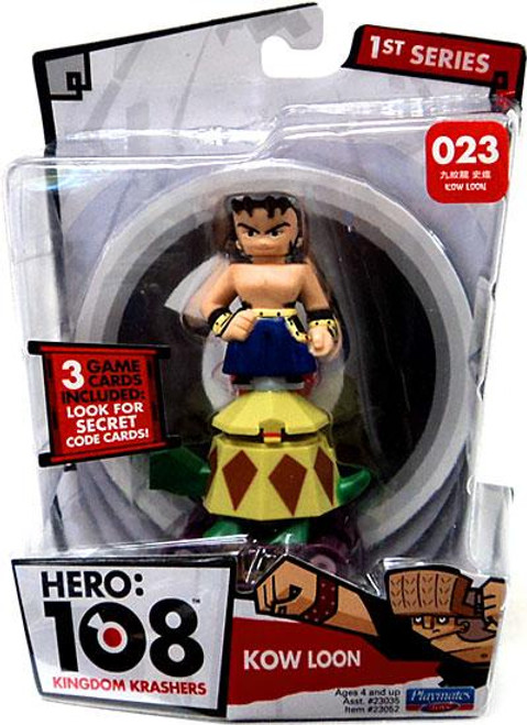 Hero: 108 Kingdom Krashers Series 1 Kow Loon Action Figure #023