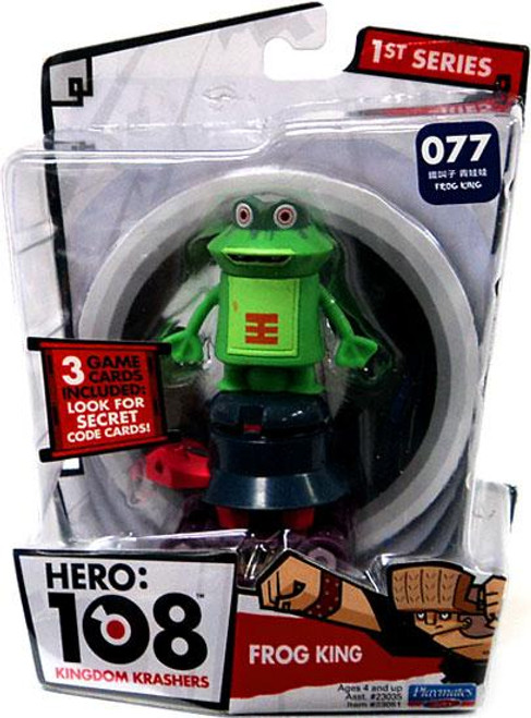 Hero: 108 Kingdom Krashers Series 1 Frog King Action Figure #077