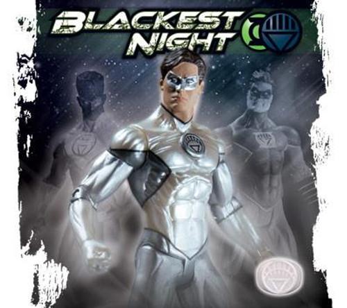 DC Green Lantern Blackest Night Hal Jordan White Lantern Exclusive Action Figure