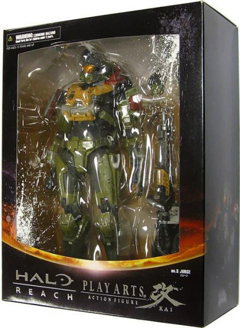Halo Reach Play Arts Kai Series 2 Jorge Action Figure [Warrant Officer]