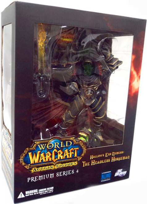 World of Warcraft Premium Series 4 The Headless Horseman Action Figure [Hallow's End Nemesis]