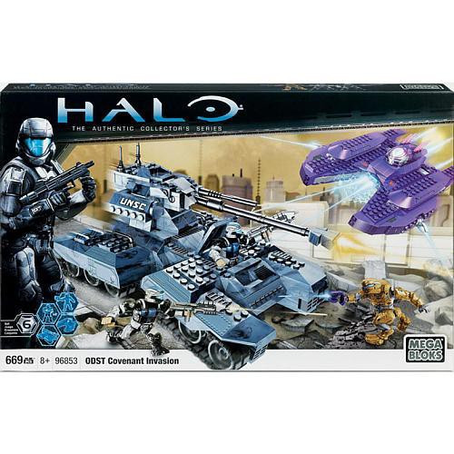 Mega Bloks Halo The Authentic Collector's Series Covenant Invasion Exclusive Set #96853