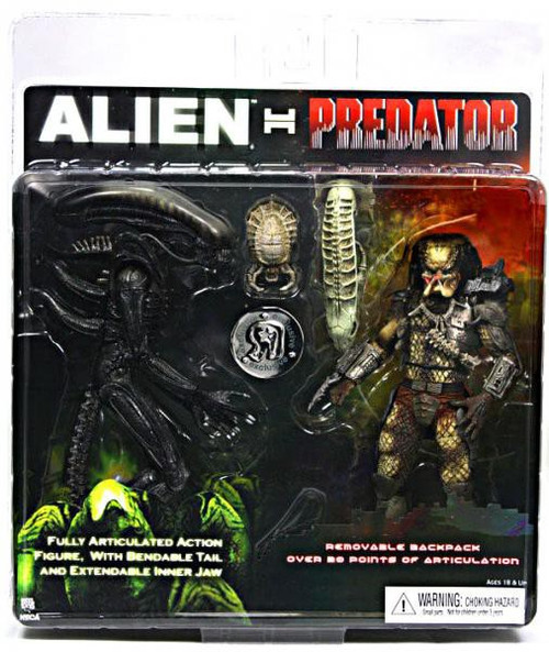 NECA Alien vs Predator AVP Alien Vs. Predator Exclusive Action Figure 2-Pack