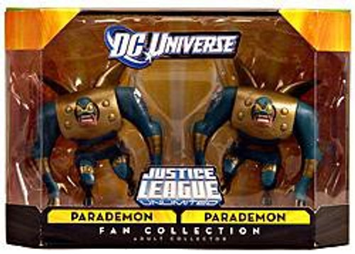 DC Universe Justice League Unlimited Fan Collection Parademon & Parademon Exclusive Action Figures
