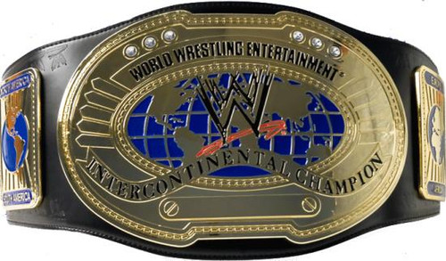 WWE Wrestling Adult Replicas Intercontinental Championship Championship Belt