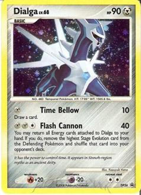 Pokemon Diamond & Pearl Promo Rare Holo Dialga DP26 Oversized