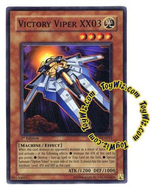 YuGiOh GX Enemy of Justice Super Rare Victory Viper XX03 EOJ-EN011