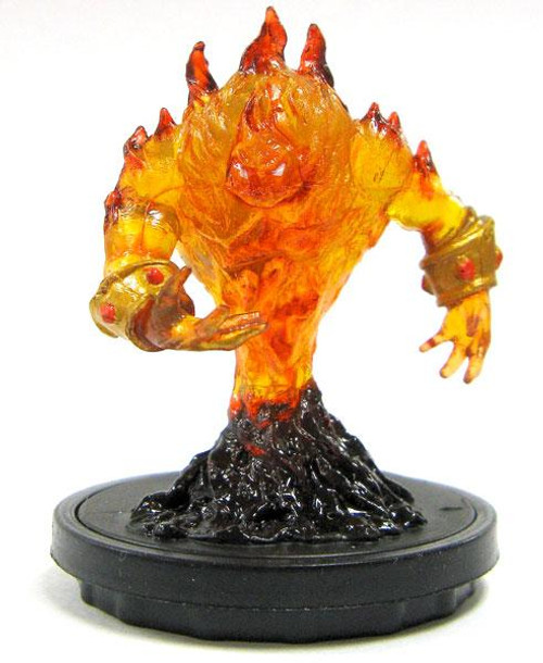 World of Warcraft Collectible Miniatures Game Core Set Enraged Fire Spirit