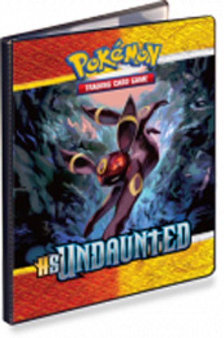 Ultra Pro Pokemon HeartGold & Soulsilver Undaunted Umbreon 9-Pocket Binder