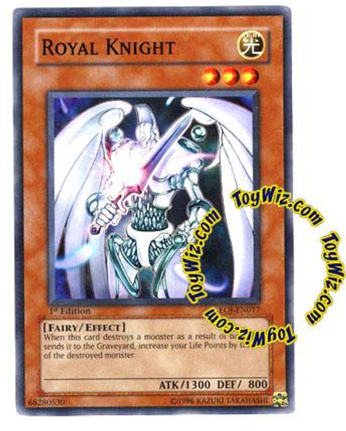 YuGiOh GX Enemy of Justice Common Royal Knight EOJ-EN017