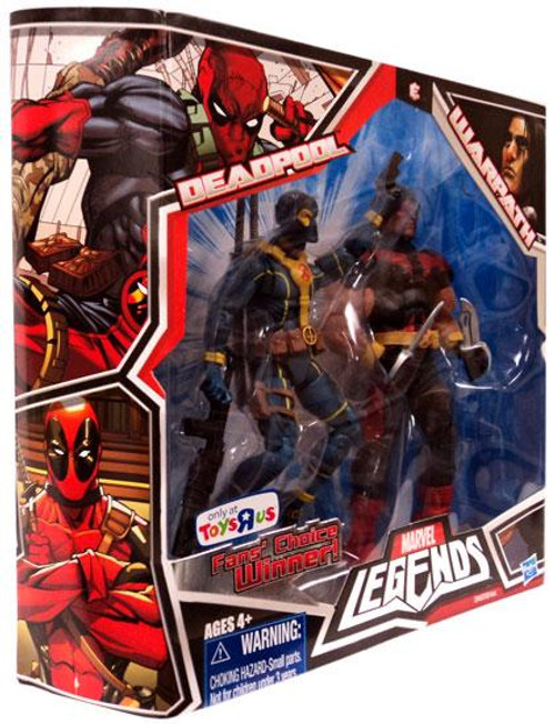 Marvel Legends Fan's Choice Deadpool & Warpath Exclusive Action Figure 2-Pack [Blue & Yellow Outfit]