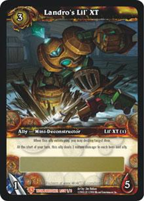 World of Warcraft Trading Card Game World Breaker Legendary Loot Landro's Lil' XT #1