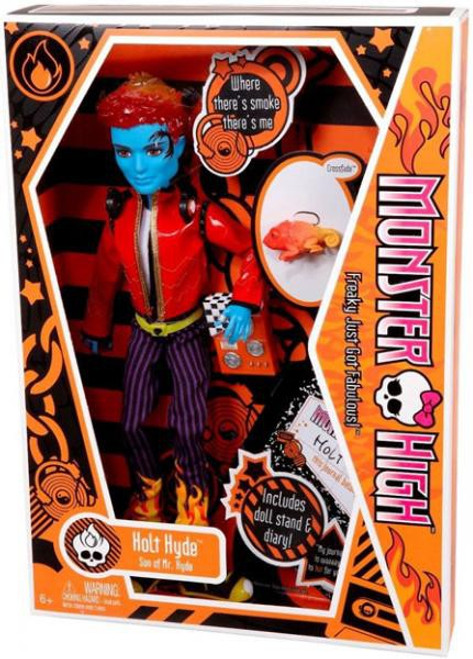 Monster High Holt Hyde 10.5-Inch Doll [With Crossfade]