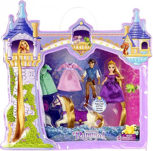 Disney Tangled Deluxe Story Bag Playset