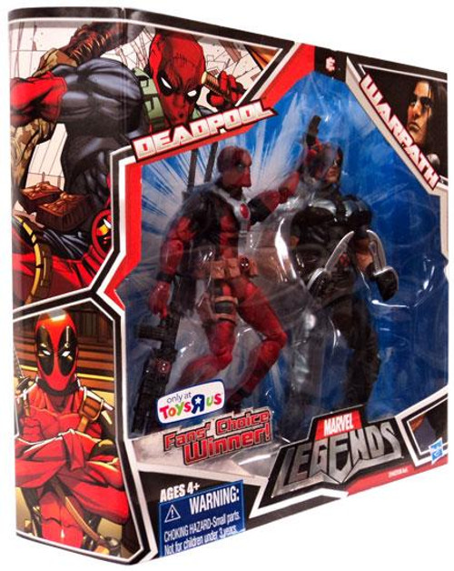 Marvel Legends Fan's Choice Deadpool & Warpath Exclusive Action Figure 2-Pack [Red Outfit]