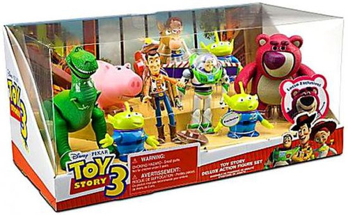Toy Story 3 Toy Story Deluxe Exclusive Action Figure Set