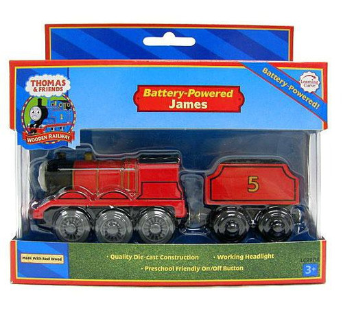 Thomas & Friends Wooden Railway James Train