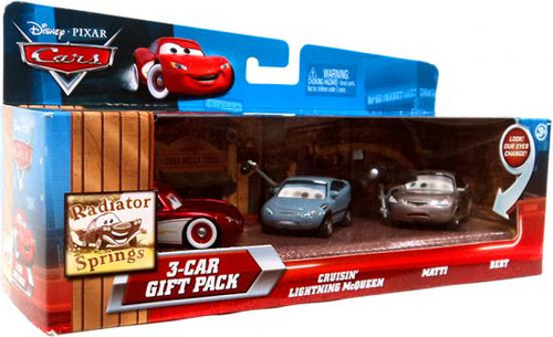 Disney Cars Multi-Packs Radiator Springs 3-Car Gift Pack Diecast Car Set [Cruisin']