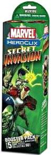 Marvel HeroClix Secret Invasion Booster Pack