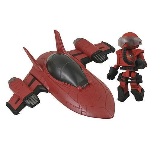 MiniMates M.A.X.-TECH Stealth Jet Vehicle